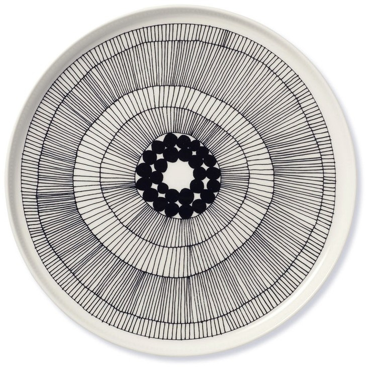 marimekko in good company plate siirtolapuutarha 25cm - tableware - interior decoration