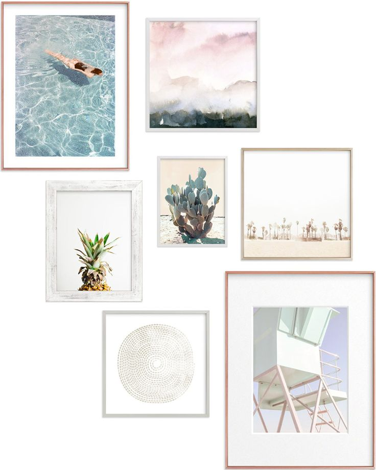 gallery wall inspiration + the minted anniversary sale http://thelovedesignedlife.com/2017/03/gallery-wall-inspiration-the-minted-anniversary-sale/