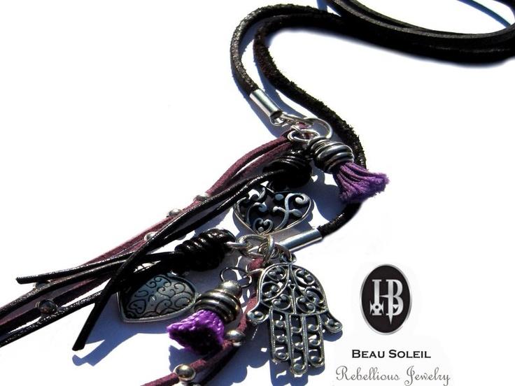 _*BEAU SOLEIL Rebellious Jewelry!*_    *Das ist ausgefallener flippiger Schmuck aus hochwertigen versilberten Metallen (mit 999er Feinsilber oder 925e