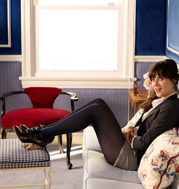 zooey in her home studio
