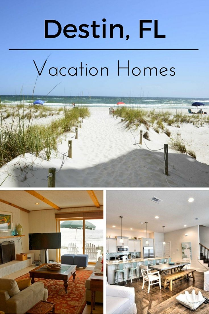 Plan your Destin, FL, vacation! Check out vacation rentals in one of Florida's most popular beach destinations!