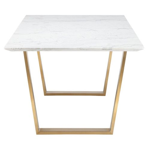 Found it at DwellStudio - Zion Marble Dining Table