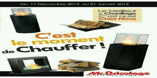 Mr Bricolage Catalogue de Janvier 2016 Mr Bricolage vous présente les meilleures offres de CHAUFFAGE. OFFRES VALABLES JUSQU'AU 31 JANVIER 2016. Catalogue des promotions et offres Mr Bricolage…