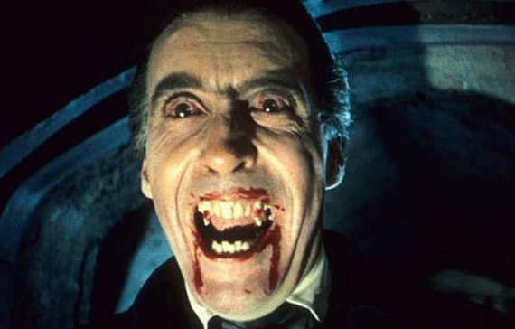 "DRACULA (1958)  Count Dracula: ""I am Dracula and I welcome you to my house.""      The original Hammer classic which gave Christopher Lee iconographic status as the dapper bloodsucker and put Bela Lugosi's Dracula firmly in the shadows. Under the direction of horror veteran Terence Fisher, the urbane British actor turns the count into a seductive monster sinking his gleaming fangs into the porcelain white necks of Hammer's boudoir of willing fillies."