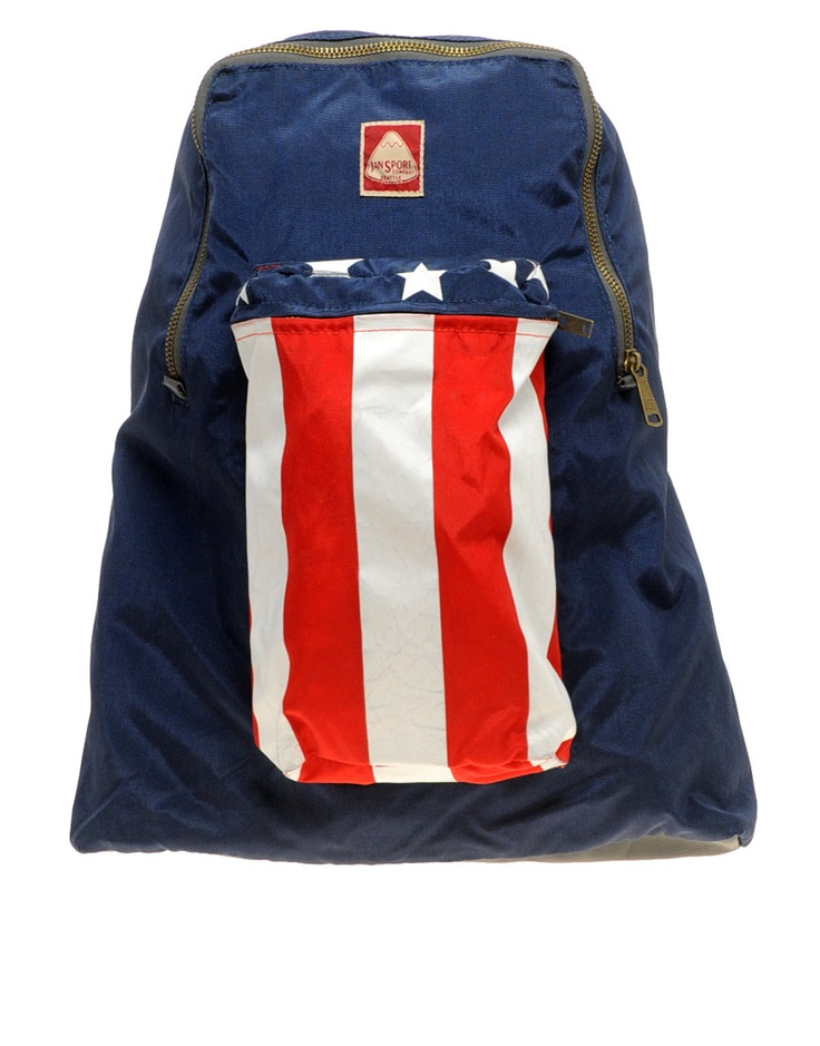 Jansport Stars & Stipes backpack: reissue of early 1970's pack ...