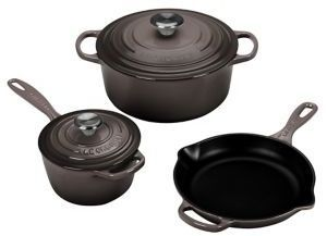 Le Creuset Five-Piece Cast Iron Cookware Set #ad