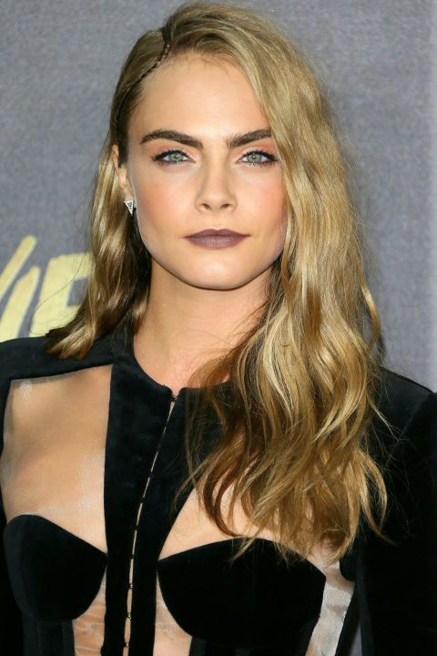 The BEST blonde celebrity hair color and highlights to show your stylist asap: Cara Delevigne