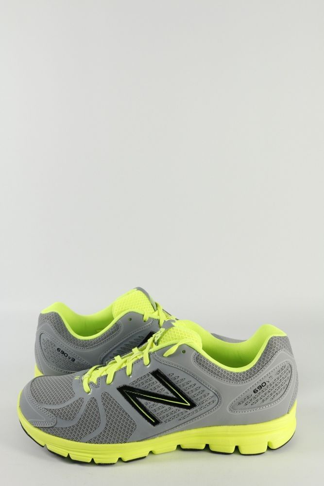 New Balance Mens Trainers Grey Lime US9,5 - EU44 #NewBalance #Trainers