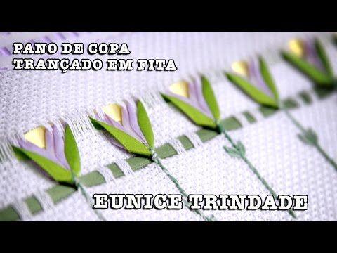 CALADO CON CINTAS#8/O LISTON/DESHILADO/PASO A PASO/DIY FACIL/COLECCION /CLASE#8❤ - YouTube