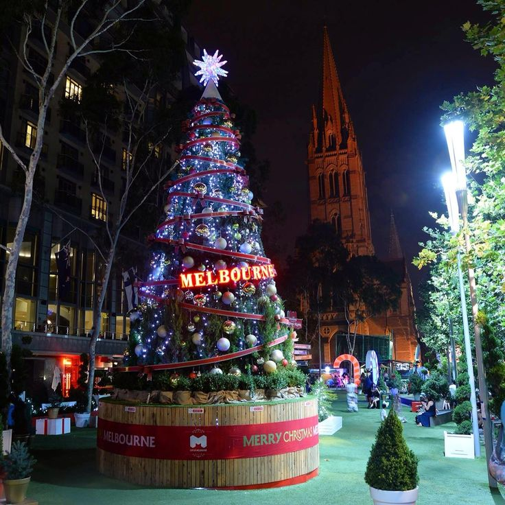 Merry Christmas from Melbourne. #travel #australia #christmas