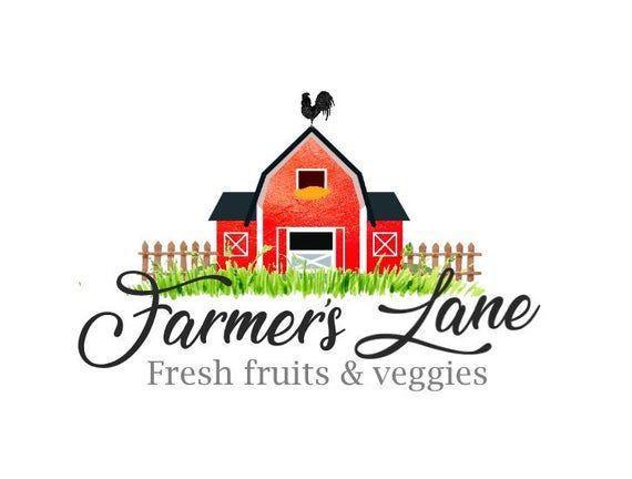 Barn Logo Farmer Logo Rooster Logo Fence Logo Farmhouse