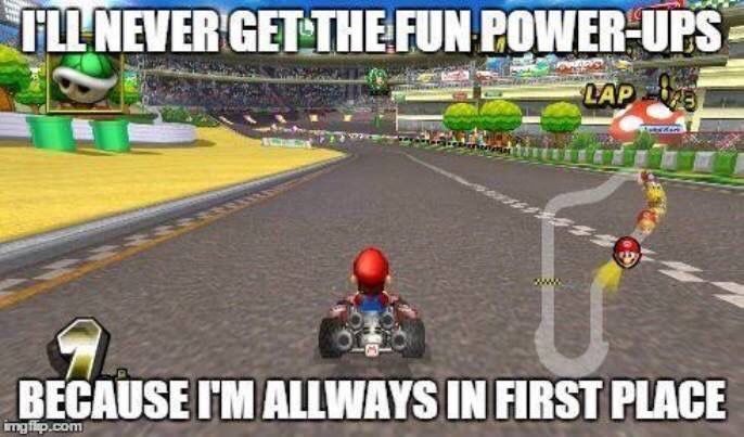 This is my entire Mario kart story, only 200cc gives me a challenge. And I'm mastering even that. #karterproblems