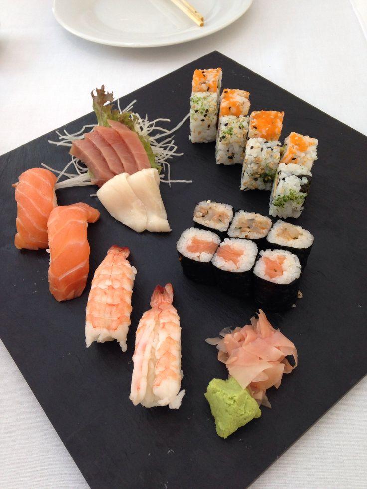 Sushi plate at Hilton Sa Torre Mallorca