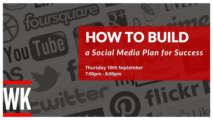 Learn how to build a social media plan in this free 1 hour webinar with social media and digital marketing expert Warren Knight. #SocialMedia #Twitter #Facebook #Instagram #Pinterest #LinkedIn