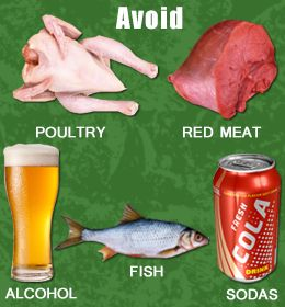 Foods High in Uric Acid - Foods to Avoid Completely & Foods to be Eaten in Moderation