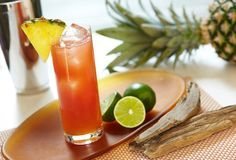 Mango Mai Tai with Captain Morgan Parrot Bay® Mango | thebar.com