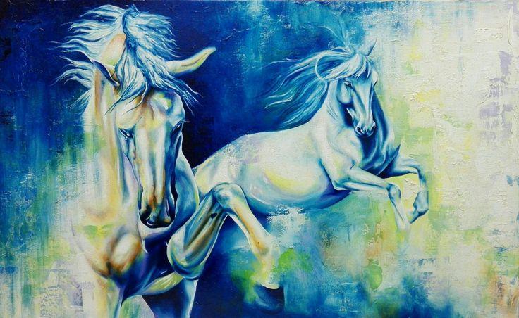 """""""Esplendour"""" Oil on canvas 71cm x 44cm Available"""