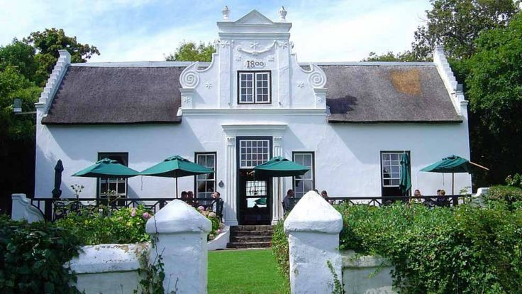 The Zevenwacht Wine Estate offers a beautiful ride through the domain before arriving to this beautiful house, where you will taste the wine.   At early morning, with the mist sometimes, the vineyards take on a mysterious atmosphere... It is splendid!