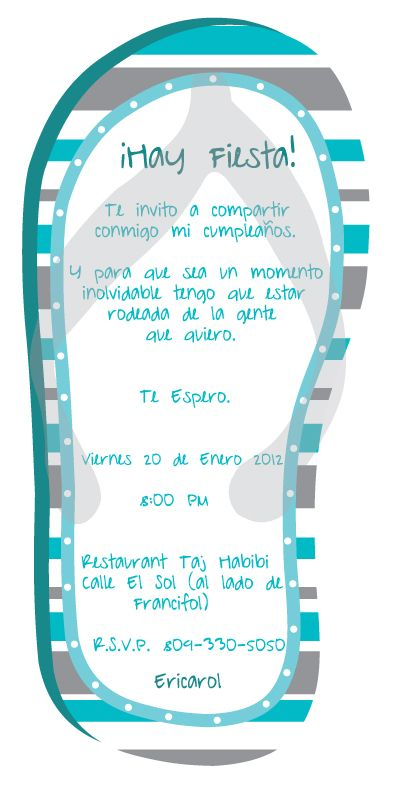 Invitaciones para diferentes ocasiones