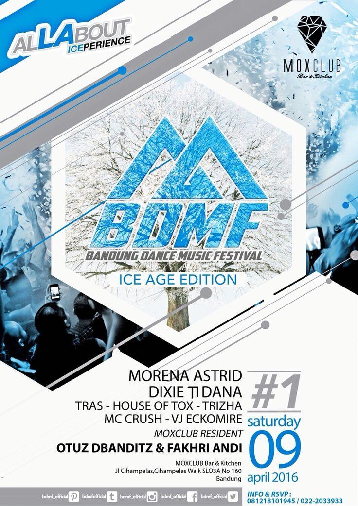 Bandung Dance Music Festival 2016 Part 1  #BDMF