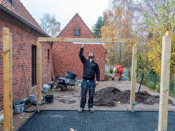 Carport Selber Bauen Bausatz Mit Erweiterung Carport Selber Bauen Carport Und Carport Bauen