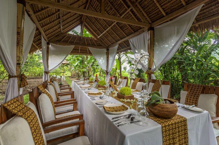 Organic Garden Brunch at Alila Manggis in East Bali