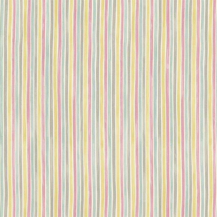 British  Wallpapers - Emma Bridgewater Polka Stripe Fabric Pink/Grey/Yellow DEMB223450, £35.00 (http://www.britishwallpapers.co.uk/emma-bridgewater-polka-stripe-fabric-pink-grey-yellow-demb223450/)