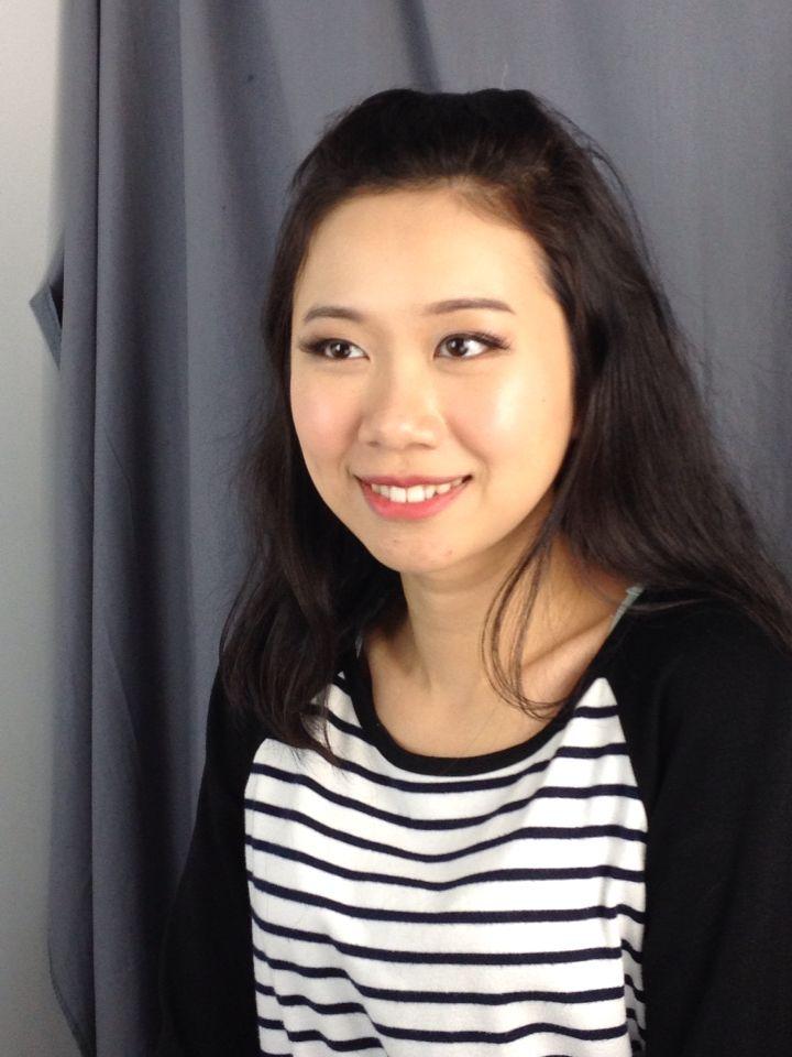 Soft asian makeup