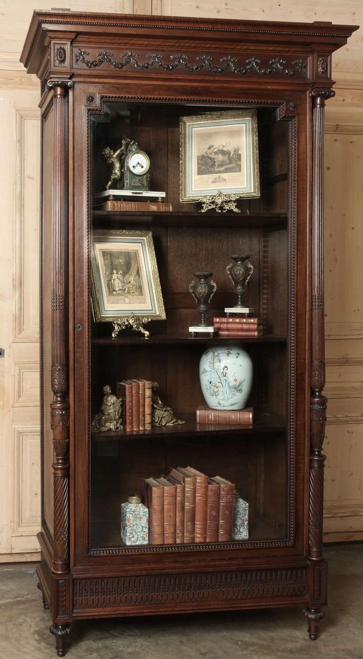 Antique Louis XVI Armoire | From a unique collection of antique and modern wardrobes and armoires at http://www.1stdibs.com/furniture/storage-case-pieces/wardrobes-armoires/