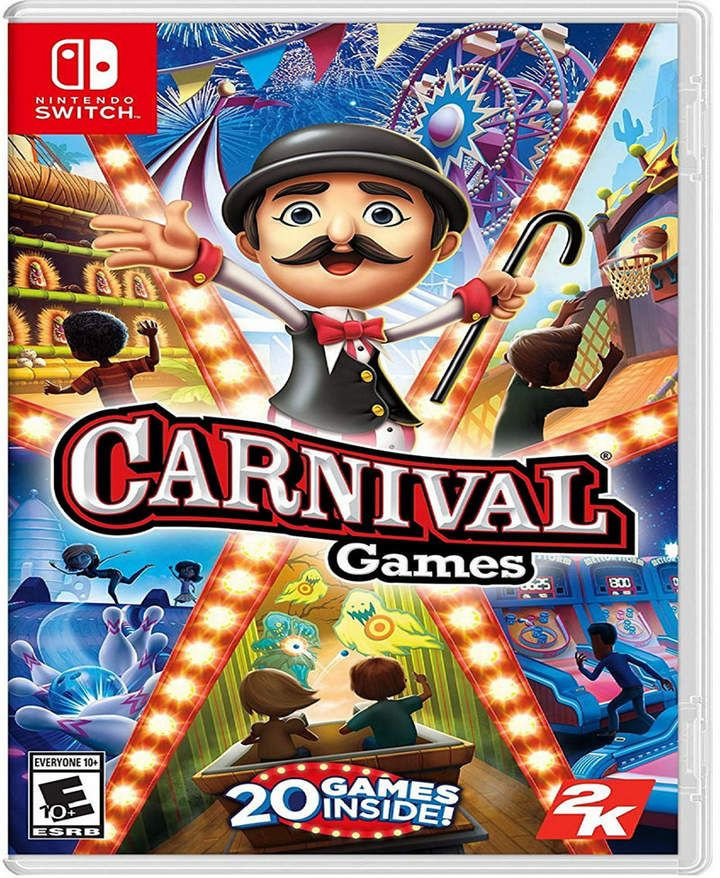 Nintendo Switch Carnival Games Nintendo Switch Games Carnival Games Nintendo Switch