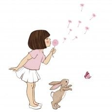 Dandelion Wall Sticker - Belle and Boo