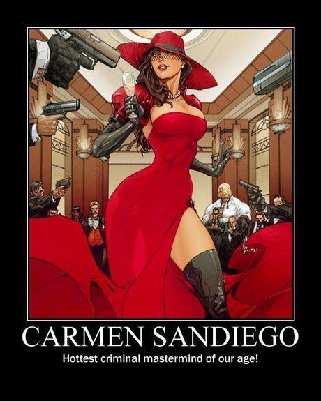 Oh Carmen . . . Halloween possibility?