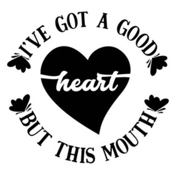 Hey I Found This Really Awesome Etsy Listing At Https Www Etsy Com Listing 666597148 I Have A Good Heart Decal Die C Heart Decals Car Decals Bumper Stickers