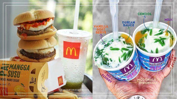 6 Menu Mcdonald S Bercita Rasa Nusantara Burger Rendang Sampai Mcflurry Durian Cendol Mau Coba Burger Indonesia Maui
