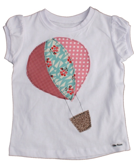 Ollie Rose handmade girls shirt