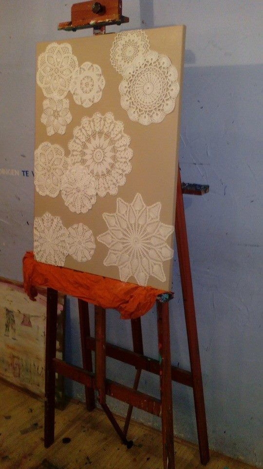 Made by me .. kanten kleedjes (Atelier Nonart)