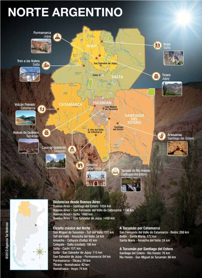 Circuito Norte Argentino En Auto : Mejores ideas sobre mapa google peru en pinterest