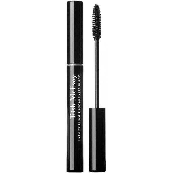 Lash Curling Mascara Jet Black ($35) ❤ liked on Polyvore featuring beauty products, makeup, eye makeup and mascara