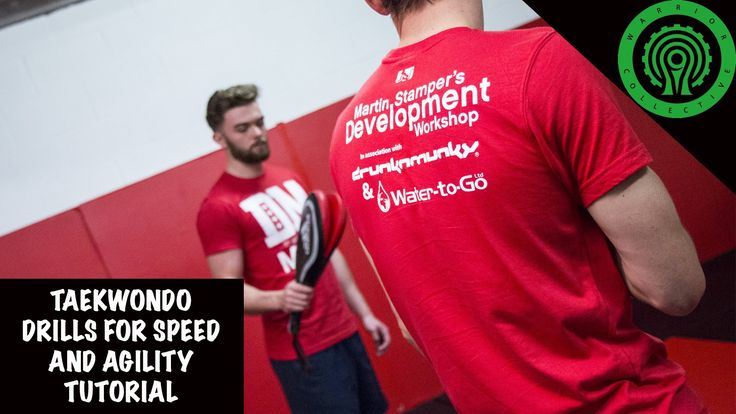 Some excellent drills to help develop speed and agility in Taekwondo here from Team GB member and Olympian Martin Stamper