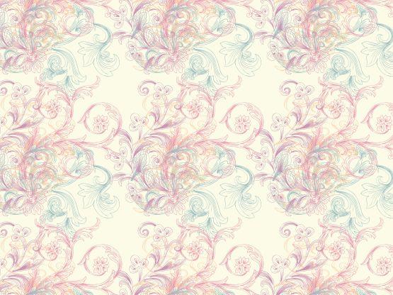 """""""love-pastel floral"""" by kingkanok"""