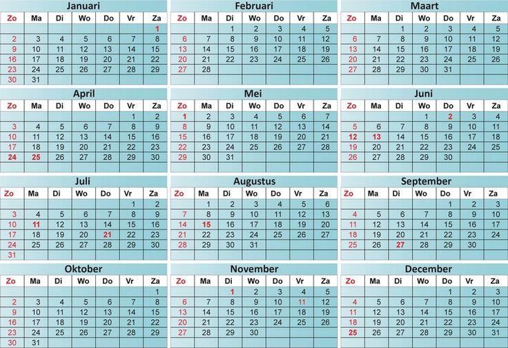 afbeelding jaarkalender weken - Google zoeken
