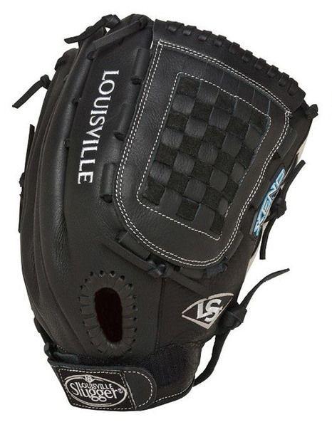 "Louisville Slugger RHT Xeno 12.75"""" Fastpitch Softball Glove FGXN14-BK127"