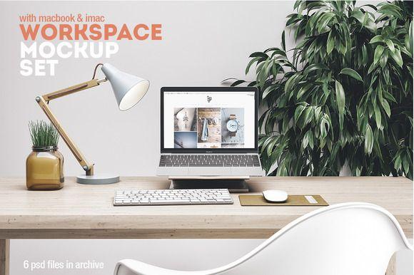 Workspace Mockup Set 5 by Best Pixels on @creativemarket