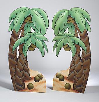Palm Tree Standees Set/2