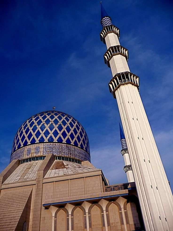 Istiqlal Mosque in Jakarta is actually the largest in Southeast Asia. The mosque pictured here has the tallest group of minarets in the world.