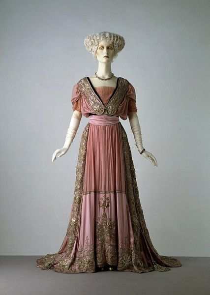 Evening Dress. 1908. By Jays Ltd.