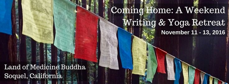 Only 5 spots left in my upcoming weekend Writing & Yoga retreat. Visit my website for details and registration.
