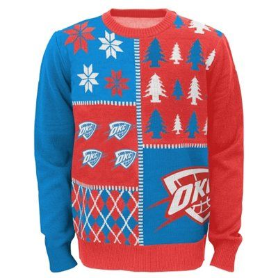 Youth Oklahoma City Thunder Ugly Sweater