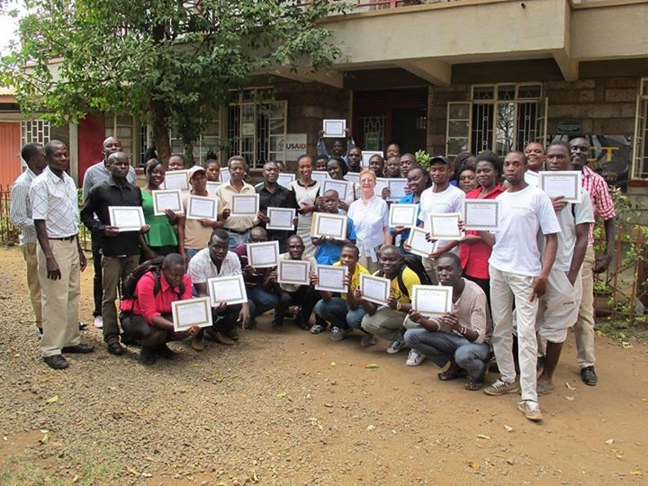 Sixty-Two Kenyans Graduate from WiRED International's Certificate Program   WiRED International's Certificate Program continues to attract community members in Kisumu, Kenya. Recently, 62 people earned certificates for completing modules from WiRED's Health Learning Center of more than 380 topics. Among the more popular modules are HIV/AIDS Basic Information and Treatment, Malaria, Malaria for Health Workers, Family Planning, STIs and Asthma.  The ceremony drew families and friends of the…