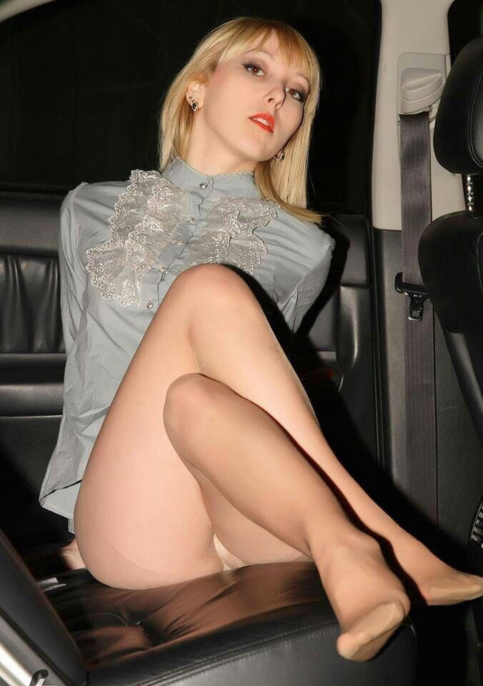 Upskirt walking over hidden camera